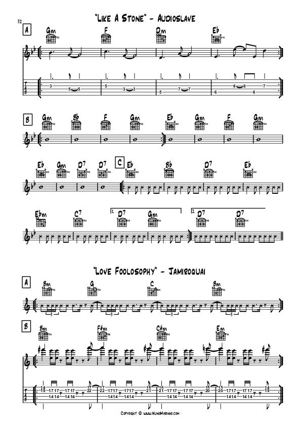 Like a Stone + Love Foolosophy Score