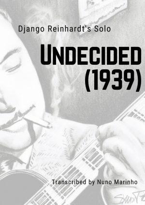 Undecided 1939 Django Reinhardt Solo