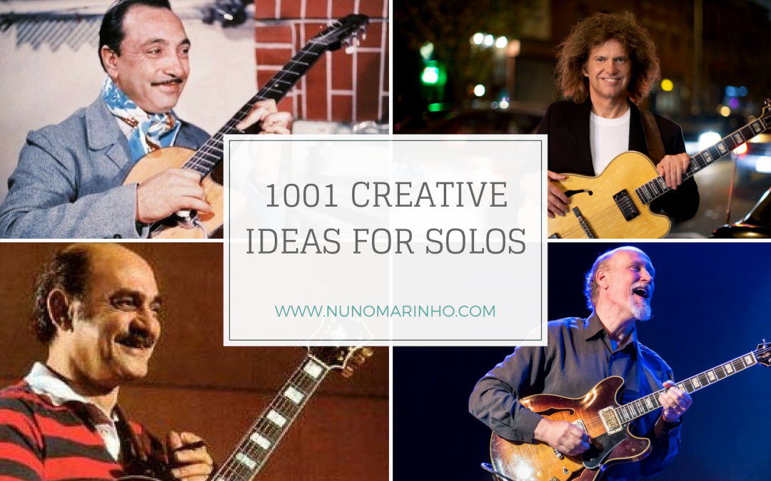 IMPROVISING: IDEAS FOR SOLOS